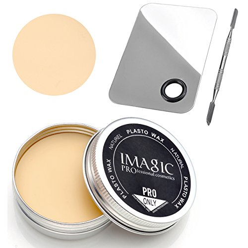 CCbeauty Professional Special Effects Stage Makeup Wax Fake Wound Moulding Scars Prosthetics + Makeup Palette (Special Effects Scars)