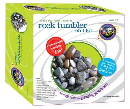 Discovery Exclusive Gyrotek Rock Polisher Refill Kit - Buy Discovery Exclusive Gyrotek Rock Polisher Refill Kit - Purchase Discovery Exclusive Gyrotek Rock Polisher Refill Kit (Discovery, Toys & Games,Categories,Learning & Education,Science,Rock Tumblers)