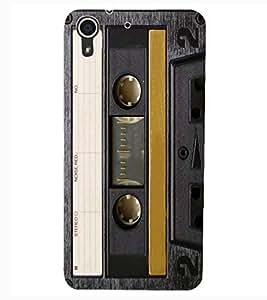 ColourCraft Retro Audio Cassette Design Back Case Cover for HTC DESIRE 626s