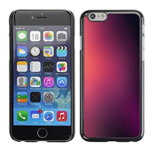 Omega Covers - Snap on Hard Back Case Cover Shell FOR Apple Iphone 6 Plus / 6S Plus ( 5.5 ) - Fog Blurry Pink Black
