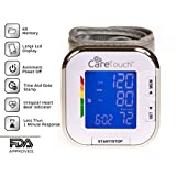 Care Touch Fully Automatic Wrist Blood Pressure Monitor - Platinum Series, 5.5