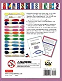 Download Ultimate Friendship Bracelets Kit: (DVD; 64 page Color Book; 14 Skeins of embroidery floss; 25 beads)