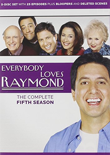 DVD : Everybody Loves Raymond: Complete Fifth Season (Boxed Set, Repackaged, 5 Disc)