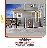 【Carlson】アウトドア専用のゲートです。新発売 カールソン アウトドアスーパーペットゲート0470