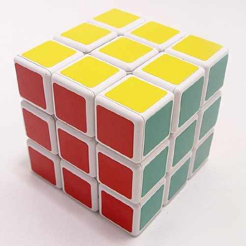 Qiyun Shengshou 3x3x3 Wind Series Brain Teaser Speed Cube Puzzle White