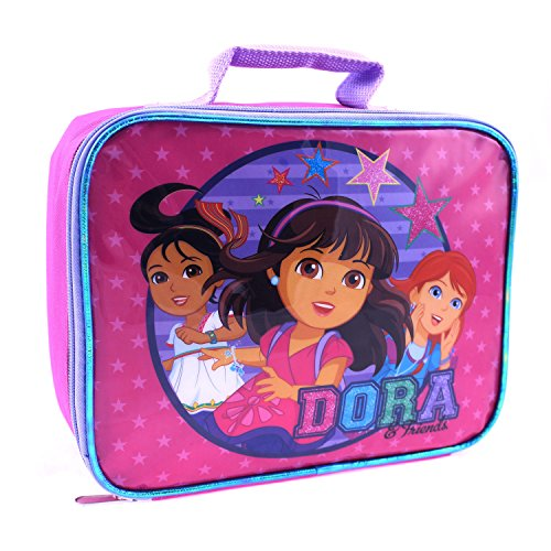 Global Design Concepts Dora and Friends Lunch Kit, Pink