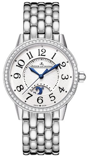 Jaeger LeCoultre Rendez-Vous Silver Dial Stainless Steel Ladies Watch Q3468121