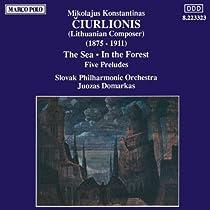 クラシック,管弦楽,チュルリョーニス,交響詩「海」