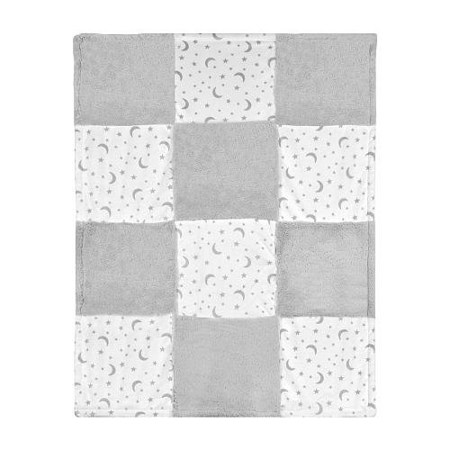 Koala Baby Printed Patchwork Blanket - Stars and Moon