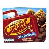 Quaker Cheweee Bars Milk Chocolate 9 Pack 198g