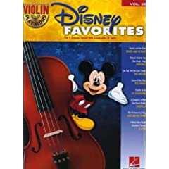 Disney Favorites - Violin Play-Along Volume 29 (Bk/CD) (Hal Leonard Violin Play Along)