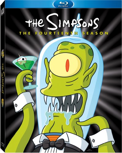 Blu-ray : The Simpsons: The Fourteenth Season (Full Frame, Digital Theater System, AC-3, Dubbed, )