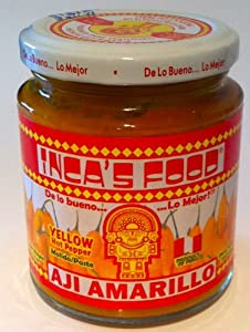 Aji Amarillo - Yellow Hot Pepper Paste By La Tienda by Inca's Food