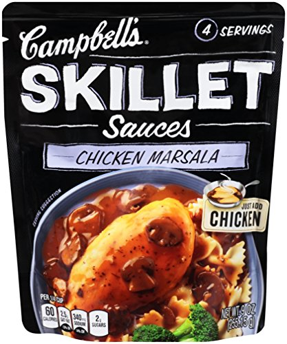 Campbell's Skillet Sauces, Chicken Masala, 11 Ounce (Pack of 6)