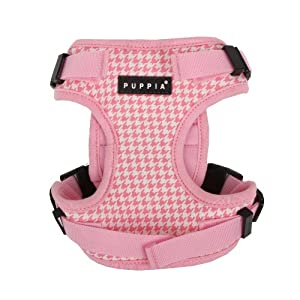 PUPPIA Authentic Neogen Safety Pet Harness, Large, Pink