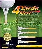 GreenKeeper 4 Yards More Golf Tee, Standard Yellow, 2-3/4-Inch