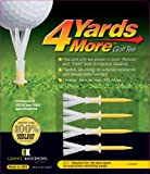 4 More Yards Plastic Golf Tees *4-Pack*