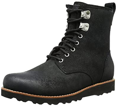 UGG Australia Men's Hannen Black Suede Boot 8 M US