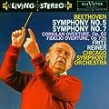 Beethoven : Symphonies n� 5 et n� 7 - Ouvertures de Coriolan et de Fidelio
