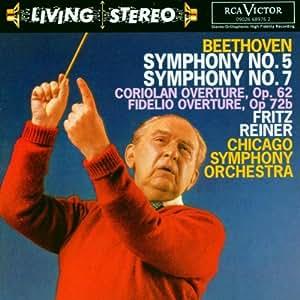 Living Stereo - Fritz Reiner dirigiert Beethoven (Aufnahmen 1955 / 1959)