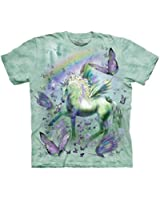 The Mountain Unicorn & Butterflies T-shirt