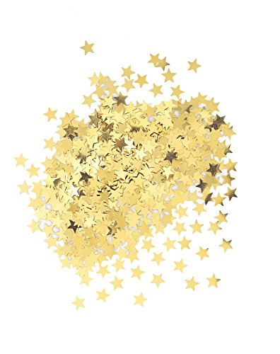 Buy Bargain Metallic Star Confetti, Gold