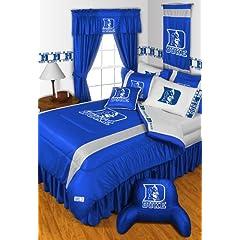 DUKE BLUE DEVILS BUCKEYES FULL 15 PIECE BEDDING COMFORTER BED IN A BAG (COMFORTER, 1... by DUKE BLUE DEVILS