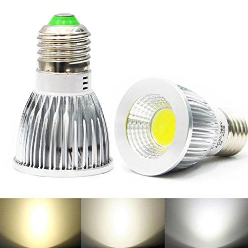 Eyourlife E27 9W Led Cob Spot Down Light Ceiling Lamp Bulb Color Natural White 5Pcs