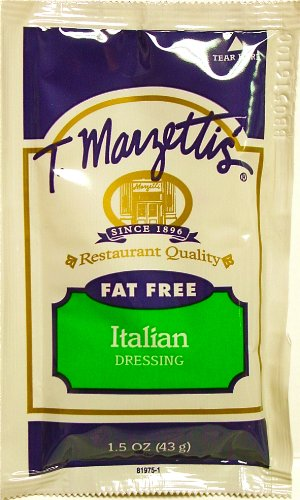 Marzetti FAT FREE ITALIAN DRESSING (ONE) - 1.5 oz Portion Control Pouch