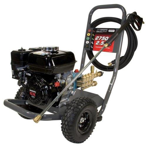 Maxus Mx5223 2,750 Psi 2.5 Gpm Honda Gx160 Gas Powered Pressure Washer With 25-Foot Hose