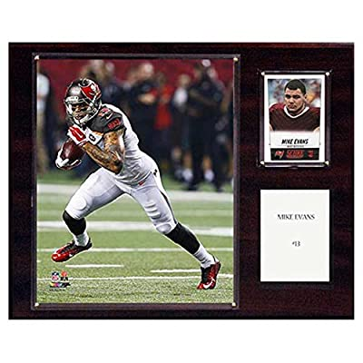 C and I Collectables NFL 15W x 12H in. Mike Evans Tampa Bay Buccaneers Player Plaque