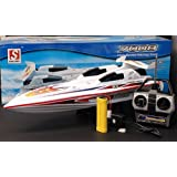"28"" Blue Streak Marine High Performance Radio Remote Control Electric EP RC Racing Speed Boat ---NEW!"