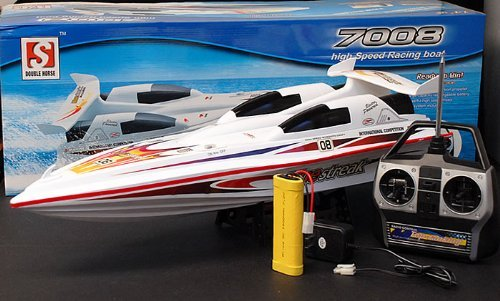 "28"" Blue Streak Marine High Performance Radio Remote Control Electric EP RC Racing Speed Boat ---NEW! by Raid"