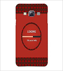 PrintDhaba Quote D-3305 Back Case Cover for SAMSUNG GALAXY A3 (Multi-Coloured)