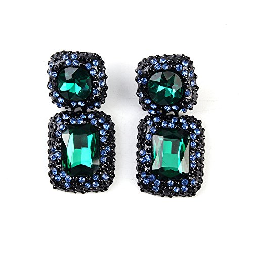 twopages-turquoise-crystal-stud-boutique-earrings-green-gift-for-women