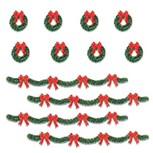 #!Cheap Department 56 Original Snow Village Holiday Boughs, Set of 12