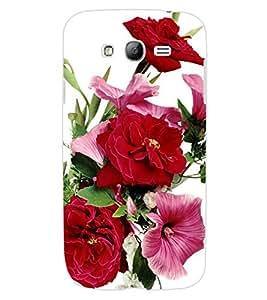 ColourCraft Beautiful Flowers Design Back Case Cover for SAMSUNG GALAXY GRAND Z I9082Z