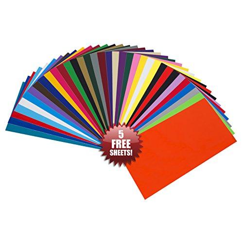 feuilles-en-vinyle-auto-adhesives-angel-crafts-1525-x-305cm-lot-de-35-meilleur-assortiment-vinyle-pe