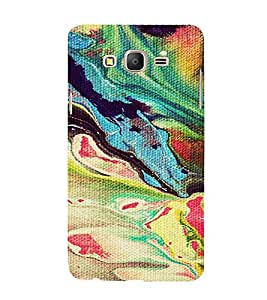 PrintVisa Painting Pattern 3D Hard Polycarbonate Designer Back Case Cover for Samsung Galaxy On 7