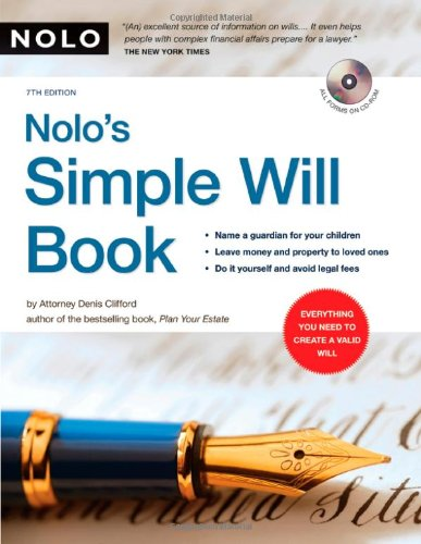 Nolo's Simple Will Book