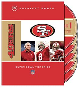 NFL: San Francisco 49ers - 5 Greatest Games: Super Bowl Victories