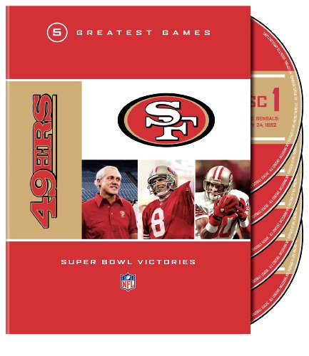 NFL 49ers 5 Greatest Games Super Bowl Victories [DVD] [2009] [Region 1] [US Import] [NTSC]
