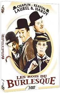 Les rois du burlesque (coffret 3 DVD) Chaplin - Keaton - Laurel & Hardy