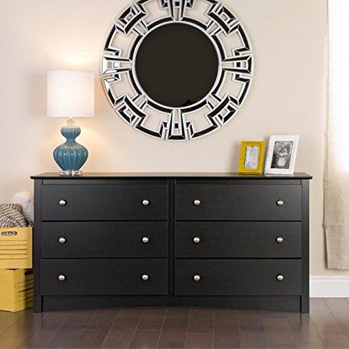 Dresser Dimensions 6 Drawer front-461089