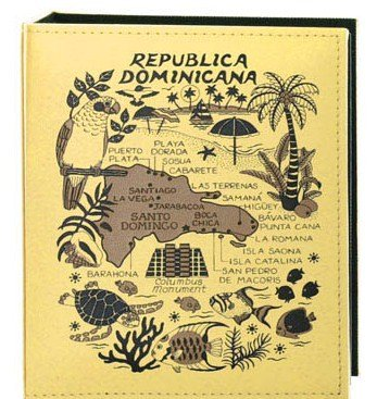 Dominican Republic Embossed Photo Album 100 Photos / 4x6