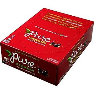 Pure Organic Gluten Free Bar Cherry Cashew -- 12 Bars