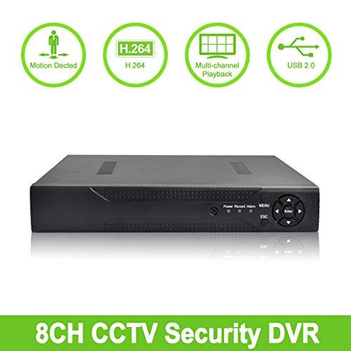 ABOWONE 8CH 1080P DVR Digital Video Recorder Network HD ...