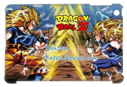 Cartoons Anime Series Dragon Ball Z Unique Design White Hard Plastic Cover Case For Ipad Mini Shopping Macket, Dragon Ball Z Best Ipad Case Picture