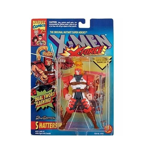 X-Men: X-Force Shatterstar #2 Action Figure