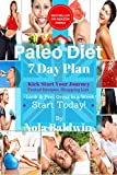 Paleo Diet Lose Weight Kick Start 7 Day Plan, Beginners Modern Caveman Diet: Jump Start Losing Primally Lose Half Stone In 2 Weeks (Paleo Diet Week One Book 1)